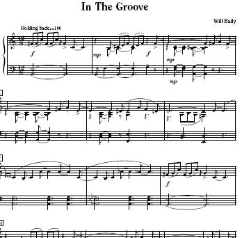 Will Baily Piano Tunes